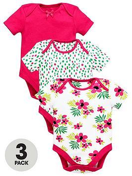 ladybird-baby-girls-bright-bodysuits-3-pack