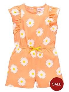 ladybird-girls-neon-daisy-playsuit