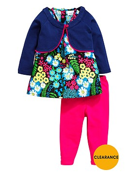 ladybird-baby-girls-floral-dress-leggings-and-cardigan-set-3-piece