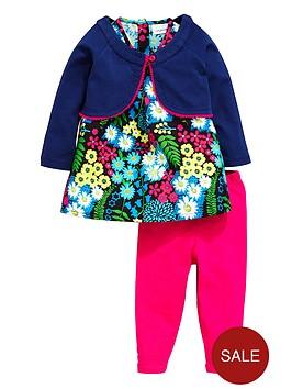ladybird-baby-girls-floral-dress-leggings-and-cardigan-set-3-piece