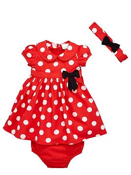 ladybird-baby-girls-spotty-dress-knickers-and-bow-headband-set-3-piece