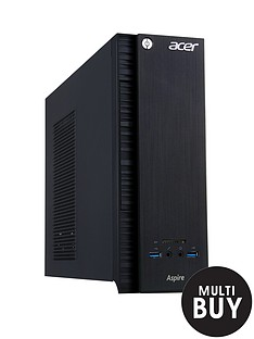 acer-axc-705-intelreg-coretrade-i5-processor-8gb-ram-1tb-hard-drive-desktop-base-unit-with-nvidia-gtx745-4gb-dedicated-graphics-and-optional-1-years-microsoft-office-365-personal-black