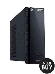 acer-axc-704-intelreg-celeronreg-processor-4gb-ram-1tb-hard-drive-desktop-base-unit-with-optional-1-years-microsoft-office-365-personal-black