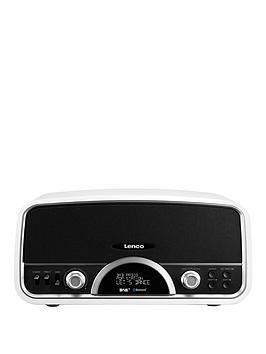 lenco-retro-radio-with-bluetooth-white