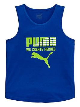 puma-older-boys-logo-vest