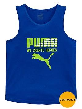 puma-older-boys-logo-vest