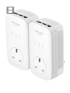 tp-link-1-200m-12gb-powerline-with-pass-through-3-lan-port
