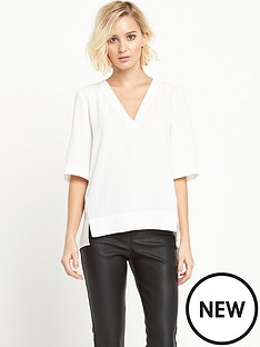river-island-short-sleeve-v-neck-tee