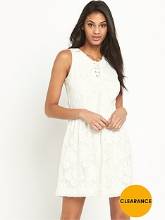 v-by-very-lace-up-detail-lace-dress