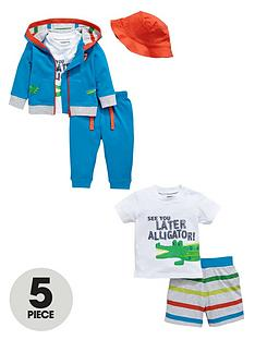 ladybird-baby-boys-t-shirt-shorts-joggers-hoodie-and-hatnbspset-5-piece