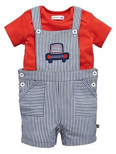 ladybird-baby-boys-ticking-stripe-dungaree-and-t-shirt-set