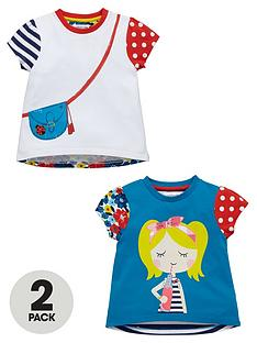 ladybird-girls-handbag-and-girl-printed-t-shirts-2-pack