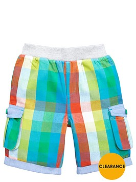 ladybird-boys-check-woven-shorts-with-pockets