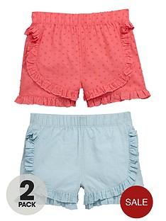 ladybird-girls-pretty-dobby-shorts-2-pack