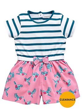ladybird-girls-stripe-and-bird-playsuit