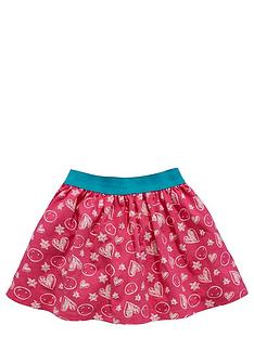ladybird-girls-heart-print-skater-skirt