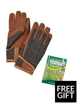 thompson-morgan-men039s-tweed-garden-gloves-size-ml-wit