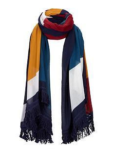 colour-block-tassel-trim-scarf