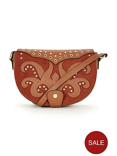 western-stud-detail-crossbody-bag