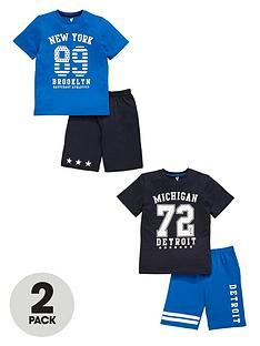 v-by-very-boys-brooklyn-shortynbsppyjamas-2-pack