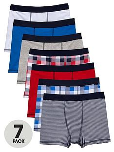 v-by-very-boys-check-stripe-and-colour-trunks-7-pack