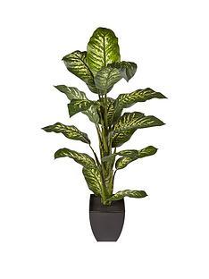 4ft-faux-diffenbachia-in-plastic-pot