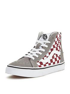 vans-vans-039sk8-hi-zip-50th-anniversary-checkerboard-junior