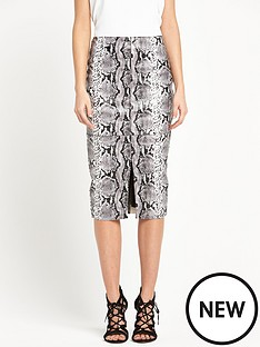 river-island-snake-print-pu-pencil-skirt