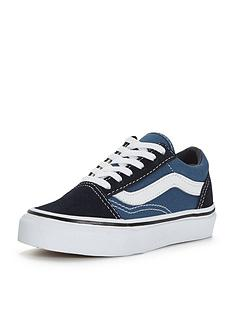 vans-old-skool-childrens-trainer-blue