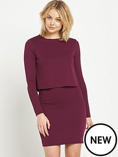 river-island-river-island-2-in-1-bodycon-dress
