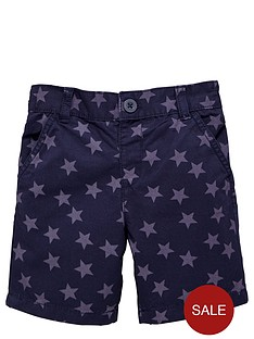 ladybird-boys-star-print-chino-shorts