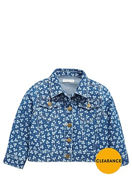 ladybird-girls-floral-denim-jacket