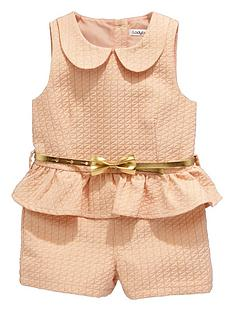 ladybird-girls-jacquard-playsuit-with-belt