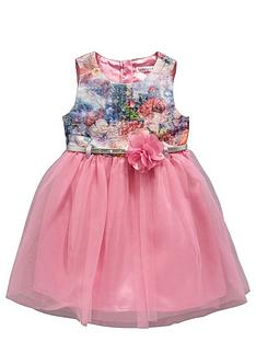 ladybird-girls-jacquard-tutu-and-corsage-belted-dress