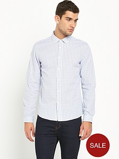 v-by-very-long-sleeve-small-scale-check-shirt