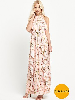 miss-selfridge-printed-ruffle-maxi-dress