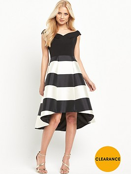 coast-mono-stripe-kate-dress
