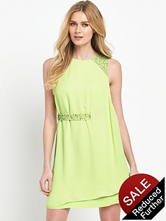 french-connection-cecil-drape-sleeveless-round-neck-dress