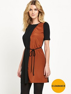 oasis-colour-block-tunic-dress