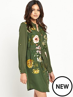 oasis-opium-print-shirt-dress