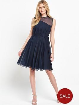 french-connection-sunray-chiffon-sleeveless-flared-dress