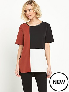 oasis-oasis-colourblock-top