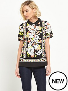 oasis-oasis-edie-floral-collar-t-shirt