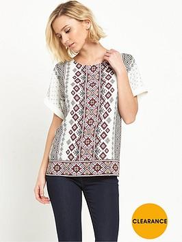 oasis-emb-print-linen-mix-t-shirt