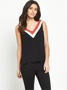 oasis-colour-block-vest-topnbsp