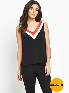 oasis-colour-block-vest-topnbsp