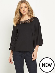 v-by-very-angel-sleeve-yoke-trim-top