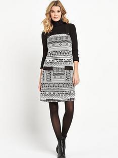 v-by-very-jacquard-pinafore-dress