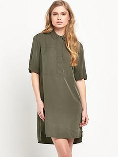 warehouse-casual-shirt-dress