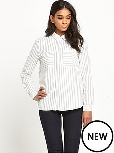warehouse-warehouse-concealed-placket-shirt